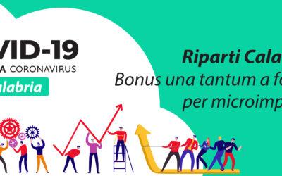 """Riapri Calabria"": 2.000€ a fondo perduto"